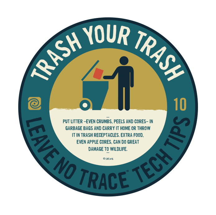 Leave No Trace Tip 4