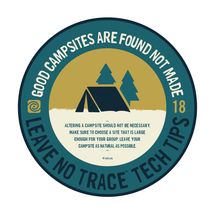 Leave No Trace Tip 7
