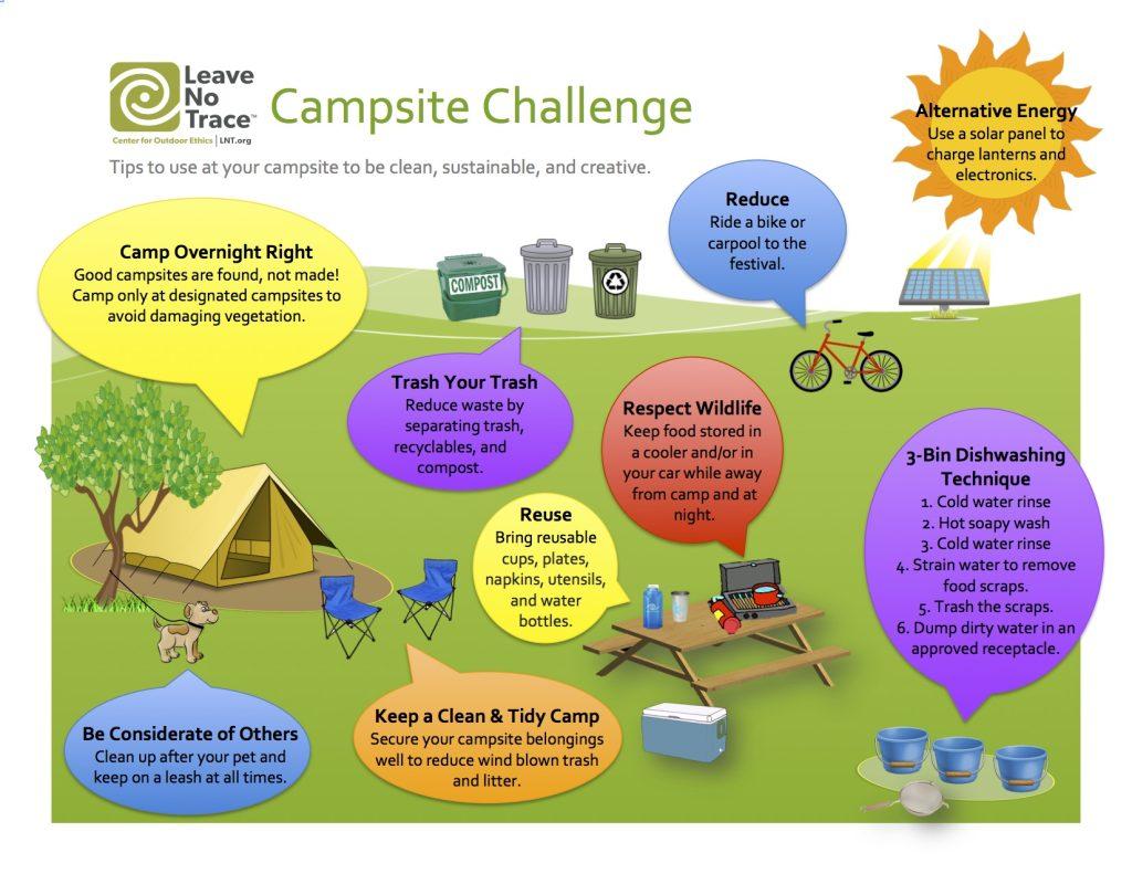 Leave No Trace Campsite Challenge! | StringSummit